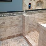 Travertine and Schluter System